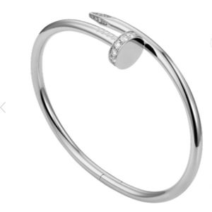 NEW Nail 18K Gold Filled Stainless Steel Bangle